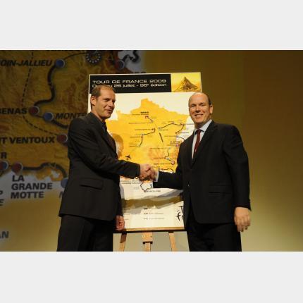 Monaco accueillera le départ du Tour de France 2009