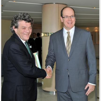 La conférence internationale « l'Arctique : un observatoire pour relever les défis des changements environnementaux », co-organisée par la présidence française de l'Union européenne et la Principauté de Monaco