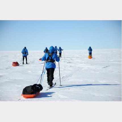 Le Prince Albert II en Antarctique
