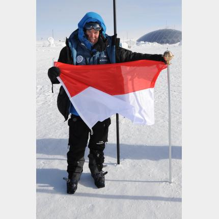 HSH Prince Albert II completes His Antarctic trip
