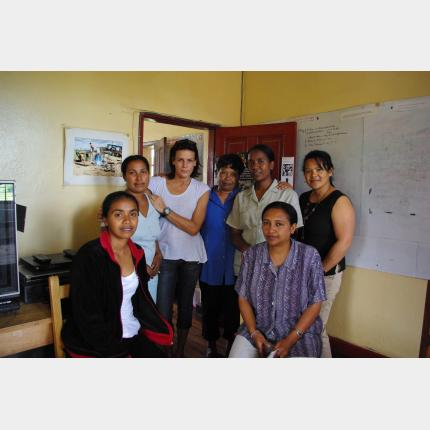 Mission de S.A.S. la Princesse Stéphanie à Madagascar