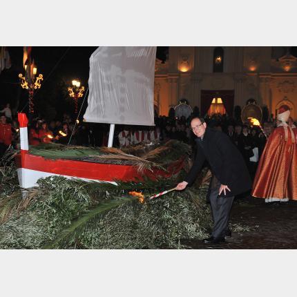 Cérémonies et festivités de la Sainte-Dévote