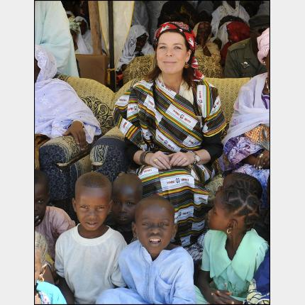 S.A.R. la Princesse de Hanovre en déplacement humanitaire au Niger