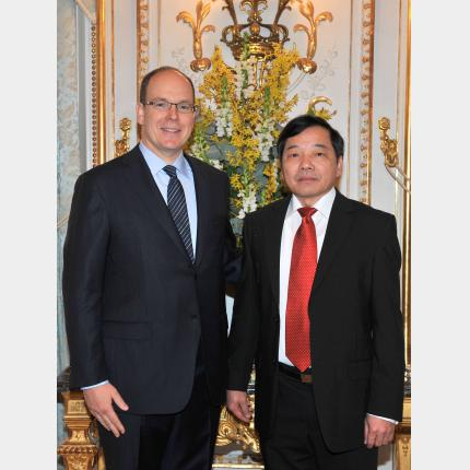 Presentation of Credentials by H.E. Mr Kinh Tai LE, Ambassador Extraordinary and Plenipotentiary of The Socialist Republic of Vietnam to the Principality of Monaco