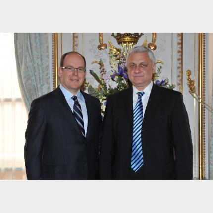 Presentation of Credentials by H.E. Mr Alexander ORLOV, Ambassador Extraordinary and Plenipotentiary of The Federation of Russia to the Principality of Monaco