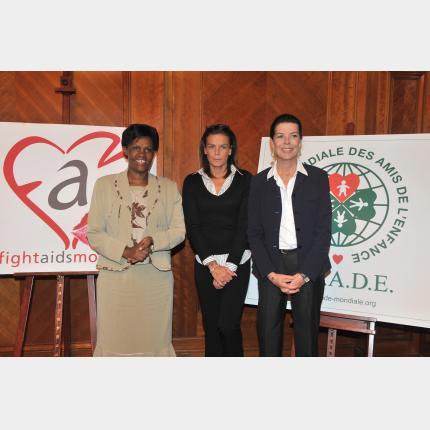 Renouvellement de la convention au profit de l'Amade Burundi, cofinancée par le Gouvernement Princier, l'Amade Mondiale et Fight Aids Monaco