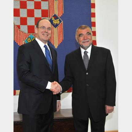 H.S.H. Prince Albert II of Monaco's official visit to Croatia