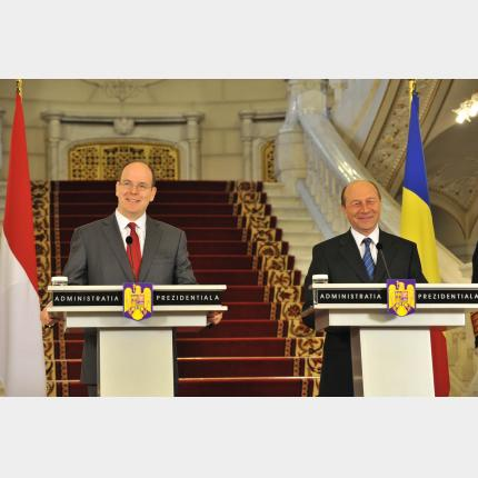 H.S.H. Prince Albert II of Monaco's official visit to Romania