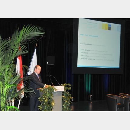 S.A.S. le Prince Albert II a prononcé le discours inaugural de la 6ème Conférence FEMIP
