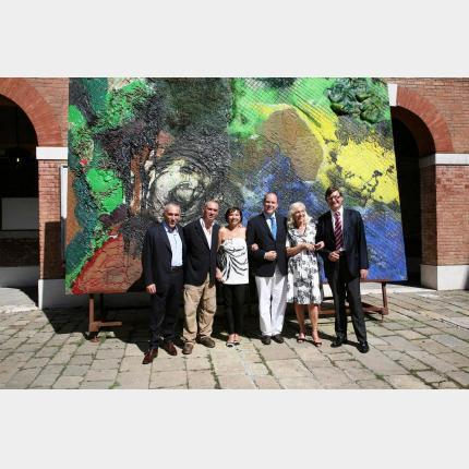 S.A.S. le Prince à la Biennale des Arts Visuels de Venise