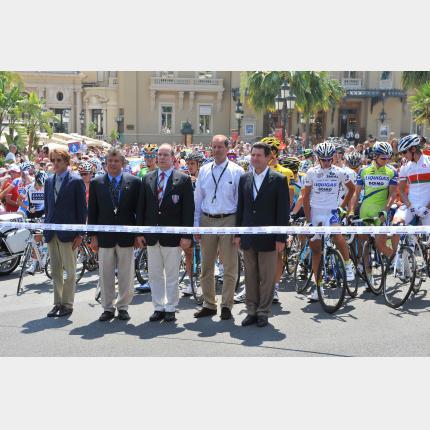 Le Grand Départ du Tour de France 2009 a été donné en Principauté de Monaco