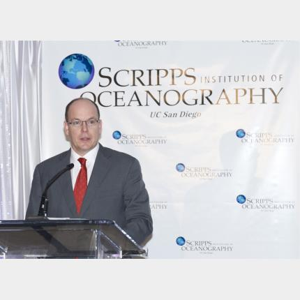 HSH Prince Albert II honoured at the University of San Diego