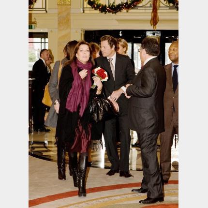 S.A.R. La Princesse de Hanovre en visite à Londres au bénéfice des enfants philippins
