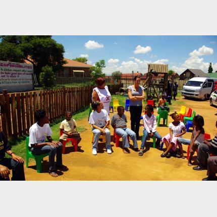 Mission de S.A.S. la Princesse Stéphanie en République d'Afrique du Sud (du 9 au 12 décembre 2009)