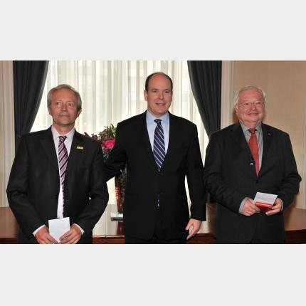 HSH Prince Albert II of Monaco to award the Grand Prix for the Sciences of the Sea on 12 March 2010