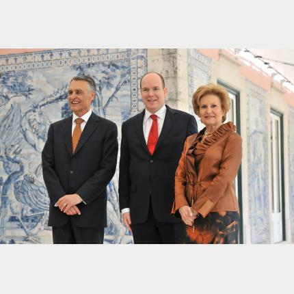 Official Visit by H.S.H. Prince Albert II to Lisbon