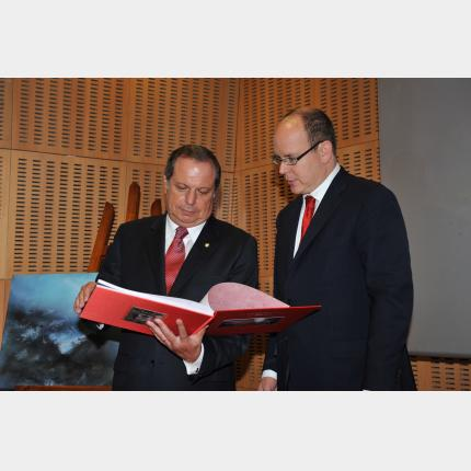 Official visit by H.S.H. Prince Albert II to Azore