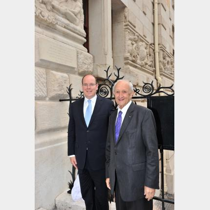 HSH Prince Albert II celebrated the Centenary of the Institute of Human Palaeontology in Paris, on Wednesday 2 June 2010
