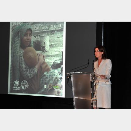 Discours de SAR la Princesse de Hanovre- Journée Mondiale du Réfugié à Monaco