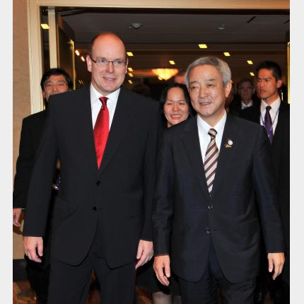 H.S.H. Prince Albert II's official visit to Japan