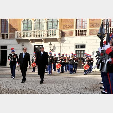 Visite officielle du Président de la République de Slovénie, S.E. M. Danilo TURK, en Principauté