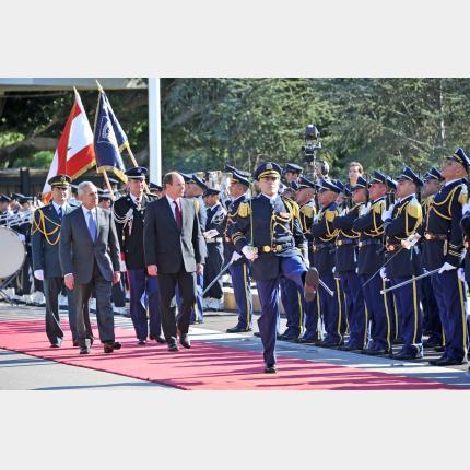 Voyage Officiel de S.A.S. le Prince au Liban
