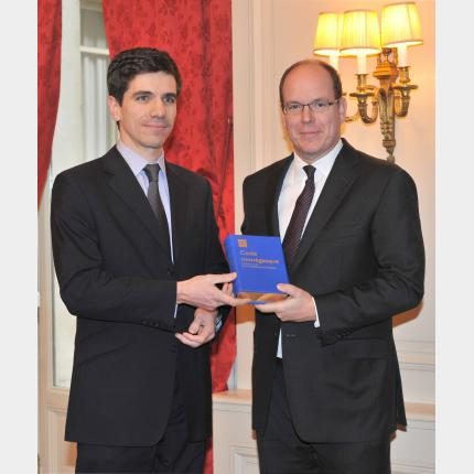 Official Handover Ceremony of the Monegasque Codes to H.S.H. Prince Albert II of Monaco