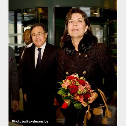 S.A.R. LA PRINCESSE DE HANOVRE EN BELGIQUE AU PROFIT DES ORPHELINS BURUNDAIS