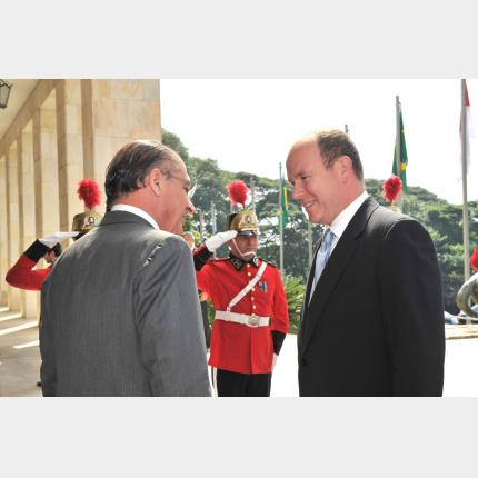 Visit by H.S.H. Prince Albert II  to Sao Paolo, Brazil (4th – 5th May 2011)