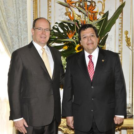 Presentation of credentials by H.E. Mr Francisco GALINDO VELEZ,