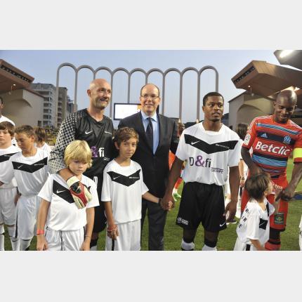 Match de Bienfaisance au Stade Louis II