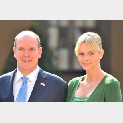Déplacement de LL. AA. SS.  le  Prince et la Princesse de Monaco en Nouvelle-Zélande