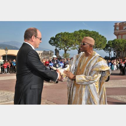 Official visit to the Principality by Amadou Toumani Touré, President of the Republic of Mali