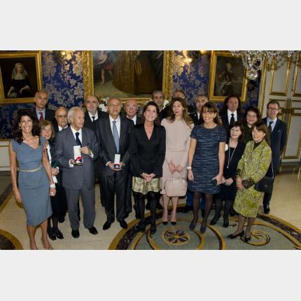 Remise des Distinctions dans l'Ordre du Mérite Culturel