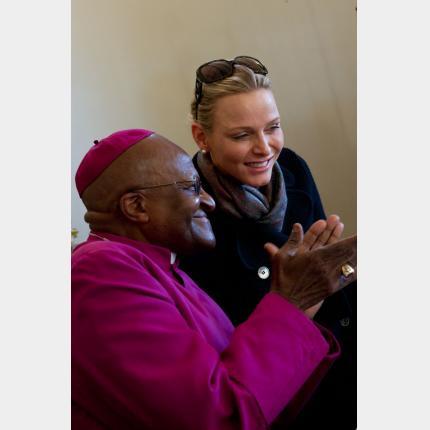 Déplacement de LL.AA.SS. le Prince et la Princesse de Monaco en Afrique du Sud du 6 au 8 décembre 2011