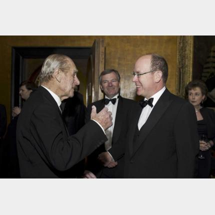 Déplacement de S.A.S. le Prince Albert II à Cambridge à l'occasion de la commémoration du centenaire de l'expédition Scott