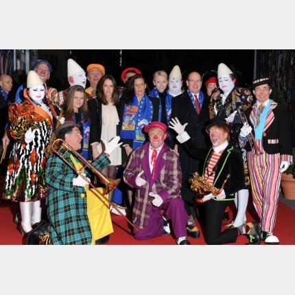 Soirée d'ouverture de la 36ème édition du Festival du Cirque de Monte-Carlo