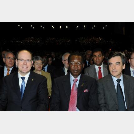 Participation de S.A.S. le Prince Albert II au 6ème Forum Mondial de l'Eau à Marseille