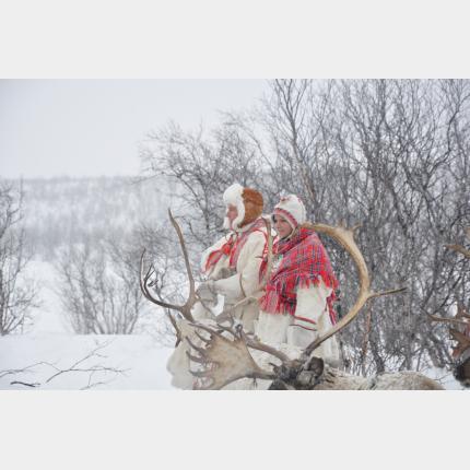 Déplacement  de S.A.S le Prince Albert II et de SAS la Princesse Charlène en Laponie du 25 au 27 mars 2012