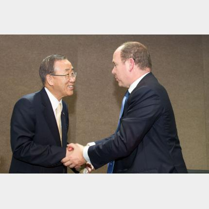 Rio+20 - side event organisé par Monaco en partenariat avec la banque mondiale