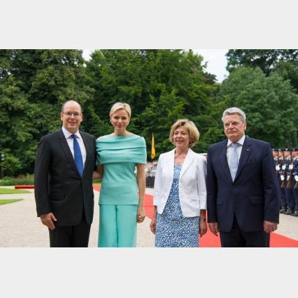 Visite officielle du Couple princier en Allemagne