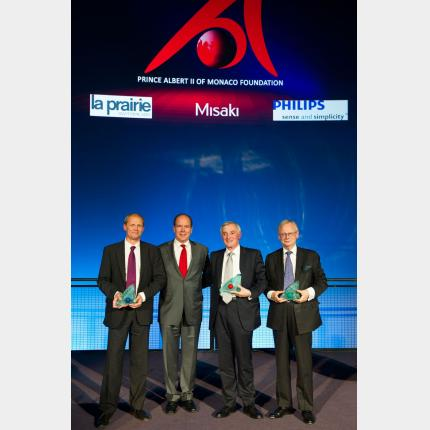 Remise des prix 2012 de la Fondation Prince Albert II de Monaco