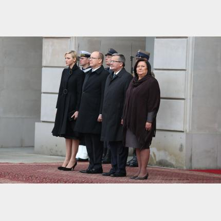 Official visit to Poland by the Prince and Princess of Monaco