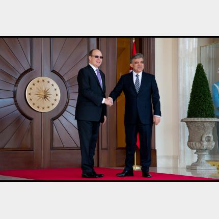 Official visit by HSH Prince Albert II to Turkey