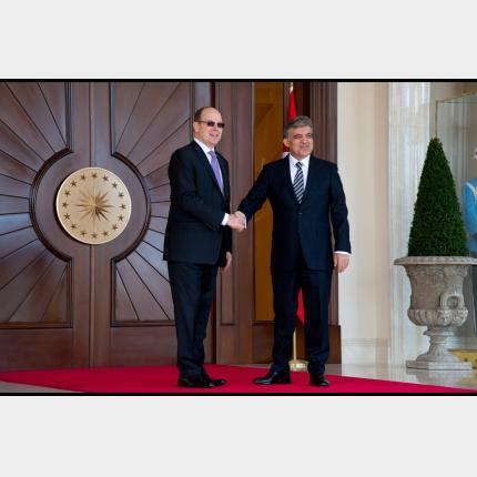 Visite officielle de S.A.S. le Prince Albert II  en Turquie