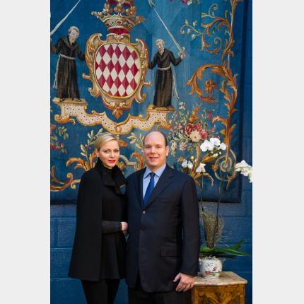 Message de Vœux de LL.AA.SS. le Prince et la Princesse pour l'Année 2013