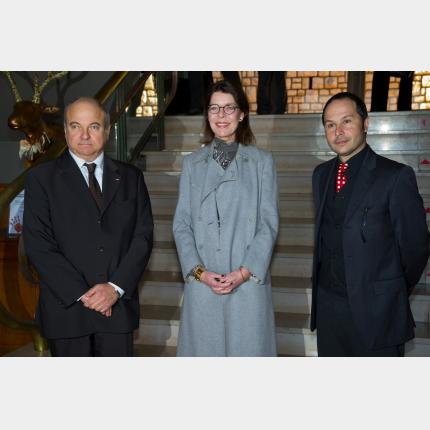 HRH the Princess of Hanover visited the exhibition