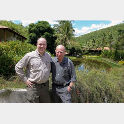 Trip by HSH Prince Albert II to Brazil
