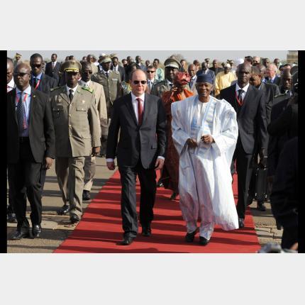 Déplacement de S.A.S. le Prince en Afrique de l'Ouest