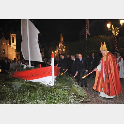 Ceremonies and festivities in honour of Saint Dévote